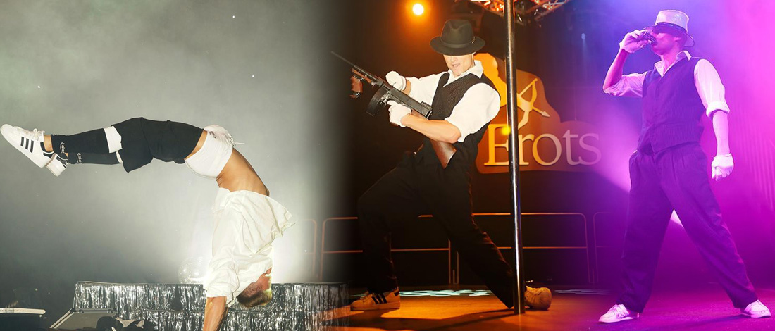 gangster show, show idee, der pate, themes show, eventstars, action show, tanz show