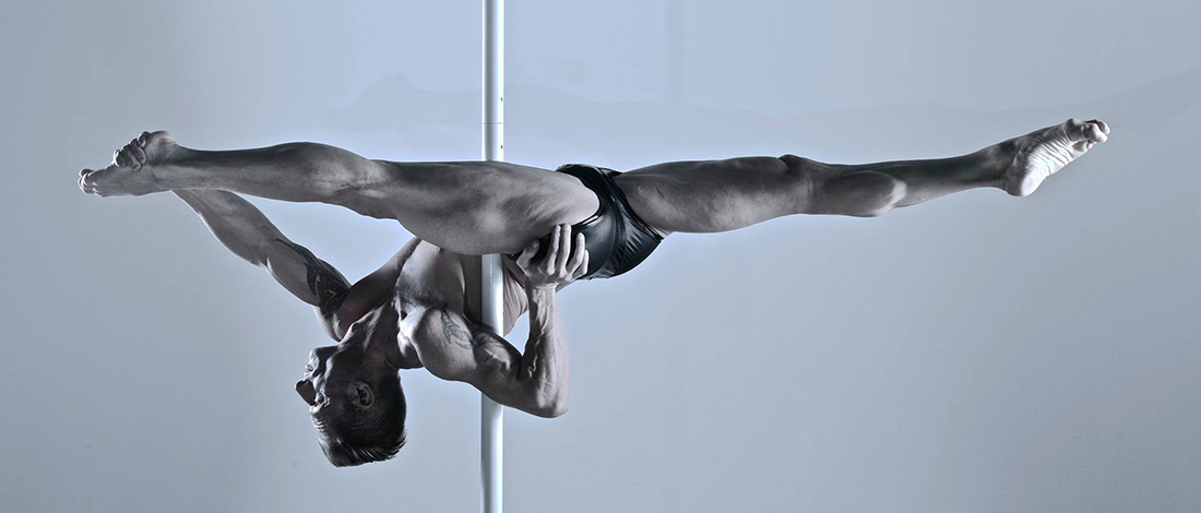 Markus Schlögl win 3 times the poledance championship in Austria (13/14/2015). He is currently in pole sport world ranking with his 40.0 points at the 1 place since 2015. His highlight this year was the bronze medal at the 2015 world championships in london (Olympic rules), his second place in las vegas at the pole expo 2015th, and the mr pole dance globe world champion 2015. He is sponsored by polestore and worldwide on tour with his poledance workshops and different events (pole dance, pole sport, pole arts). You can book markus with his portable poles stage or his flyingpole for gala shows, corporate events, dinner parties, weddings, ibiza parties or themed events. He will make your event guaranteed to highlight. His FACEBOOK SITE: FACEBOOK WEBSITE: