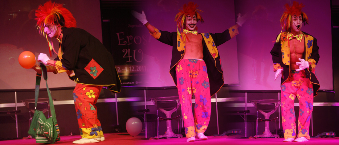 buche einen Clown für dein Event, Party, Show, eventstars.at