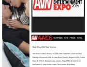 erotic artist marcello bravo & little caprice nominated for AVN awards 2016, best boy -girl scene, you can book them via our agency www.eventstars.at
