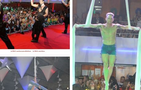 Magic Mike Show & Luftakrobatik Stripper_Fotor